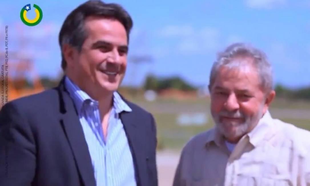 Ciro Nogueira apoiou Lula em 2018 Foto: Reprodução