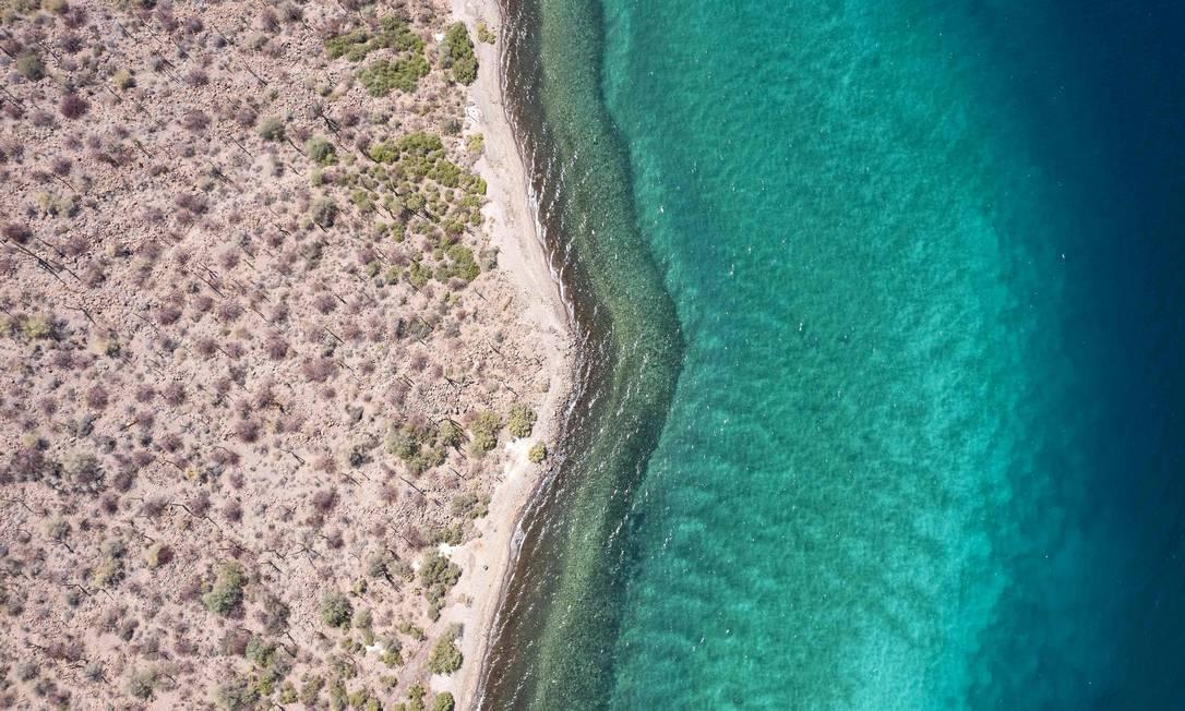 El Golfo de California, también conocido como Mar de Cortés, y sus islas están ahora en la Lista del Patrimonio Mundial de la UNESCO Foto: Guillermo Arias / AFP