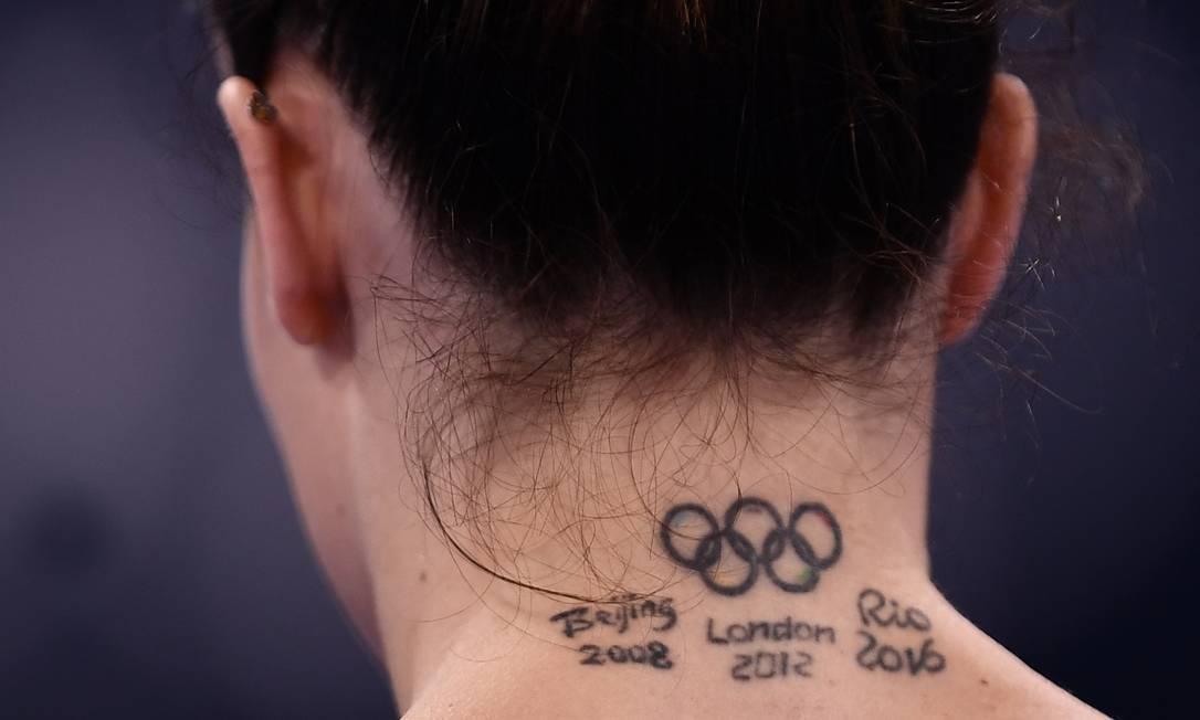La gimnasta italiana Vanessa Ferrari Foto: LOIC VENANCE / AFP