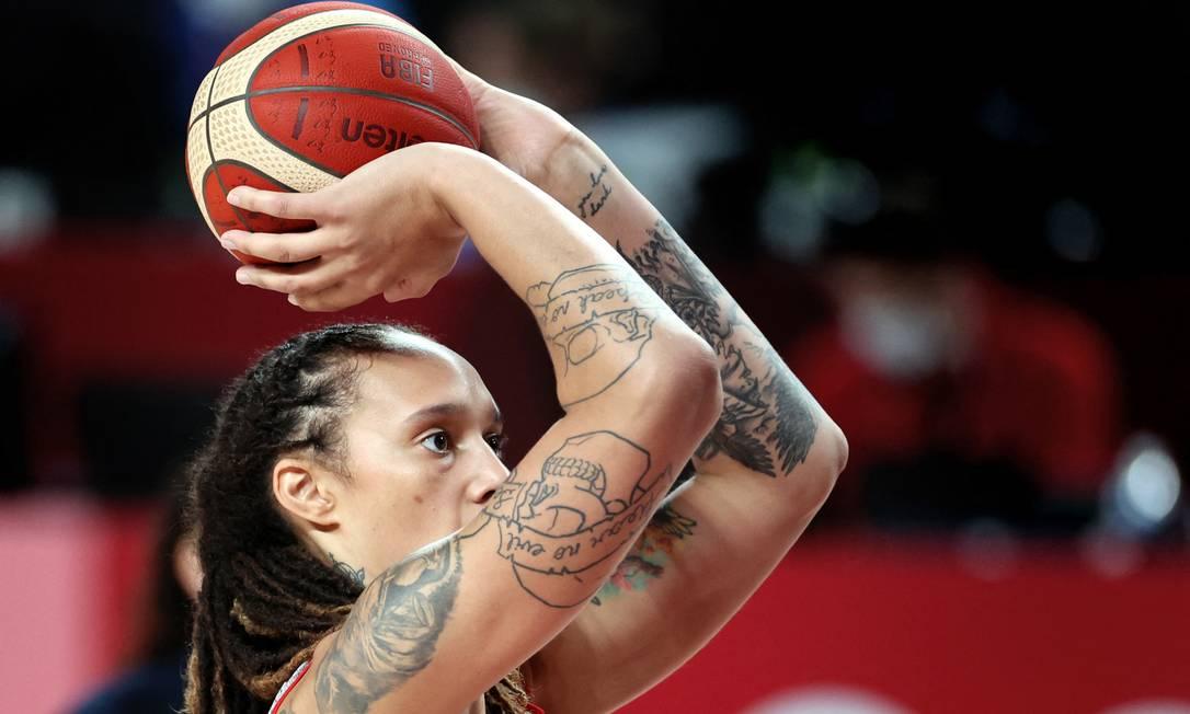 La jugadora de baloncesto estadounidense Britney Greiner Foto: Thomas Coeks / Agence France-Presse