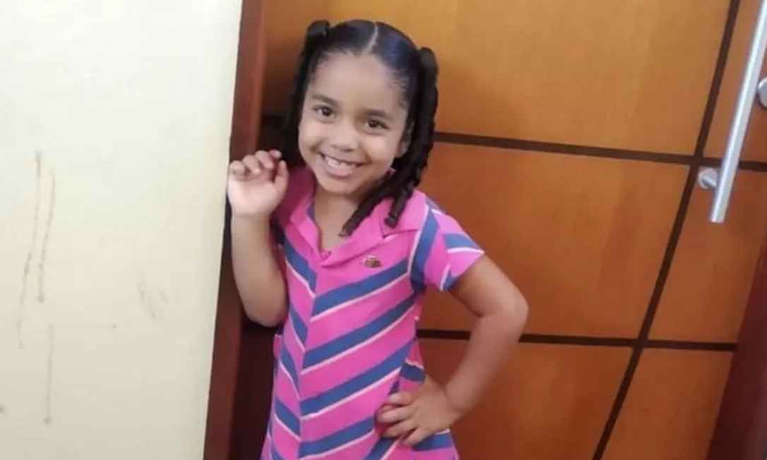 Maria Clara Calixto Nascimento foi morta pelo padrasto Foto: Reprodução