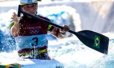Ana Sátila está na final da canoagem slalom Foto: Reprodução