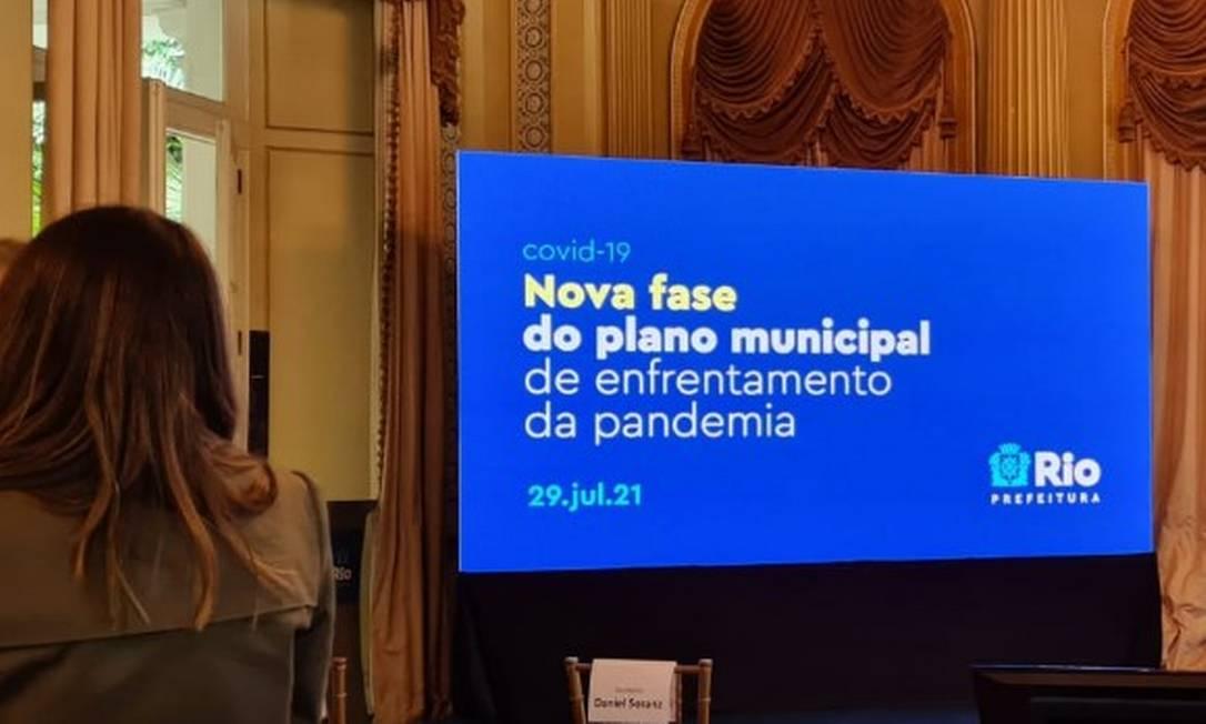 Covid-19: Rio anuncia novo plano de flexibilização Foto: Agência O Globo