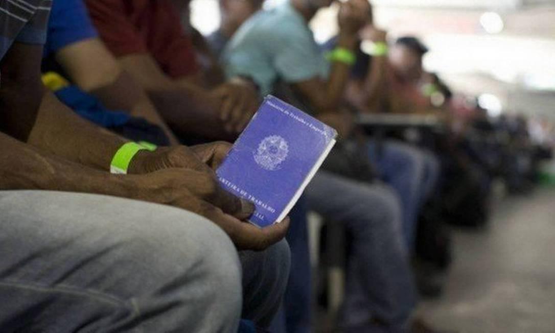 Vagas de emprego no Rio em foto antes da pandemia Foto: Arquivoo merca