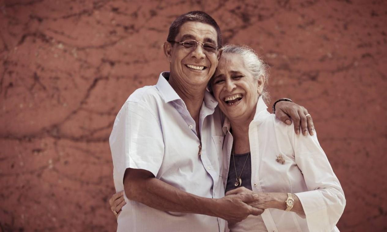 Com Zeca Pagodinho em 2018 Foto: Leo Martins / Agência O Globo