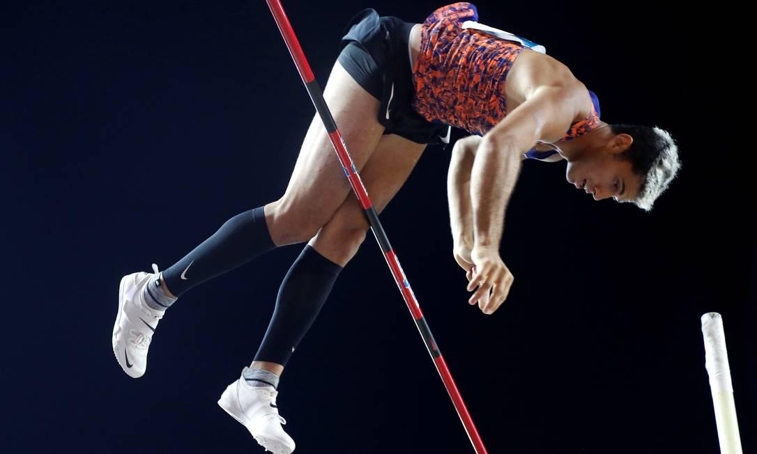 Thiago Braz acertou melhor salto da carreira nos Jogos do Rio e, cinco anos depois, tenta novo pódio olímpico Foto: ERIC GAILLARD / Reuters