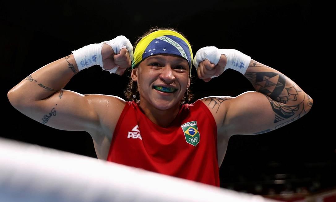 Beatriz Ferreira vai para quartas de final Foto: BUDA MENDES / REUTERS