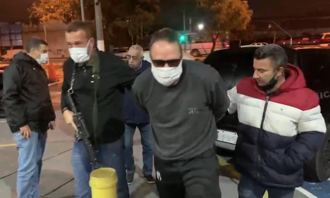 Operação da Polícia Civil em São Paulo prende o ex-vereador Cristiano Girão Foto: Reprodução