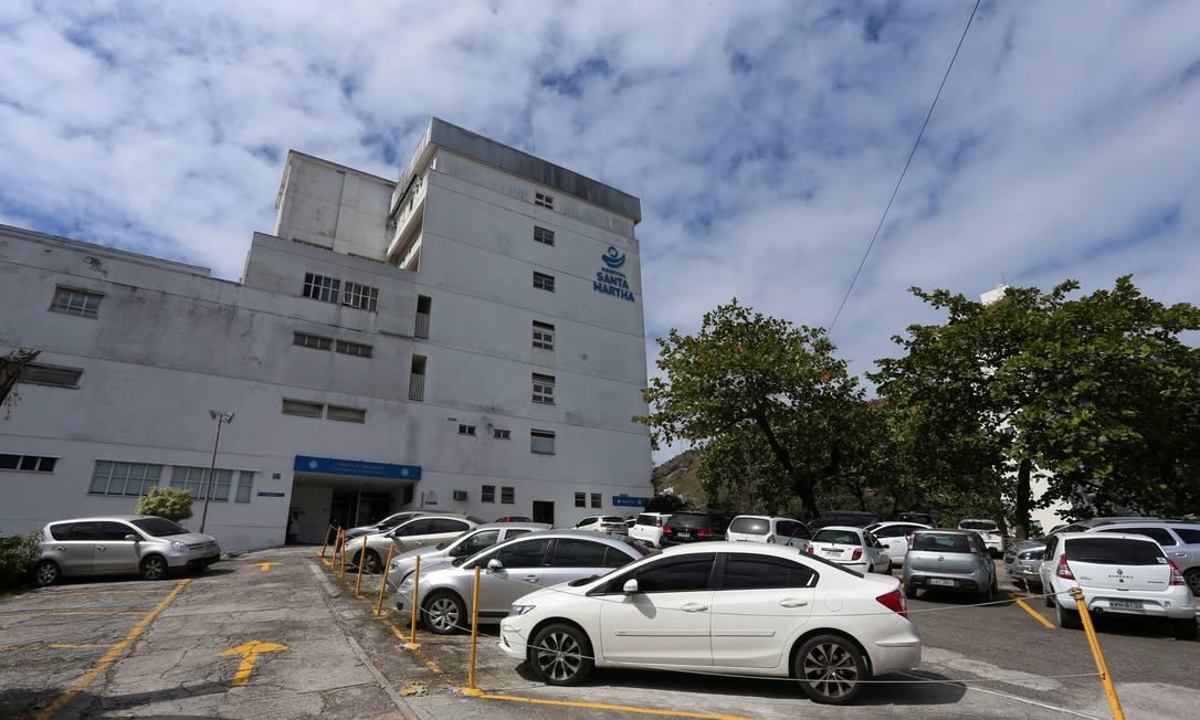 O Hospital Santa Martha, em Niterói, Região Metropolitana do Rio, foi comprado pela NotreDame Intermédica por R$ 160 milhões Foto: Fabiano Rocha / Agência O Globo