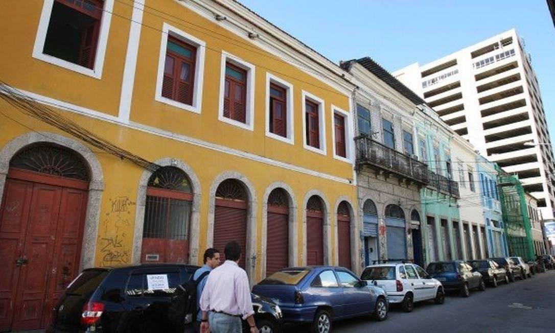 Proprietários de imóveis no Centro do Rio devem fazer o envio da declaração até o fim de julho Foto: Marcia Foletto