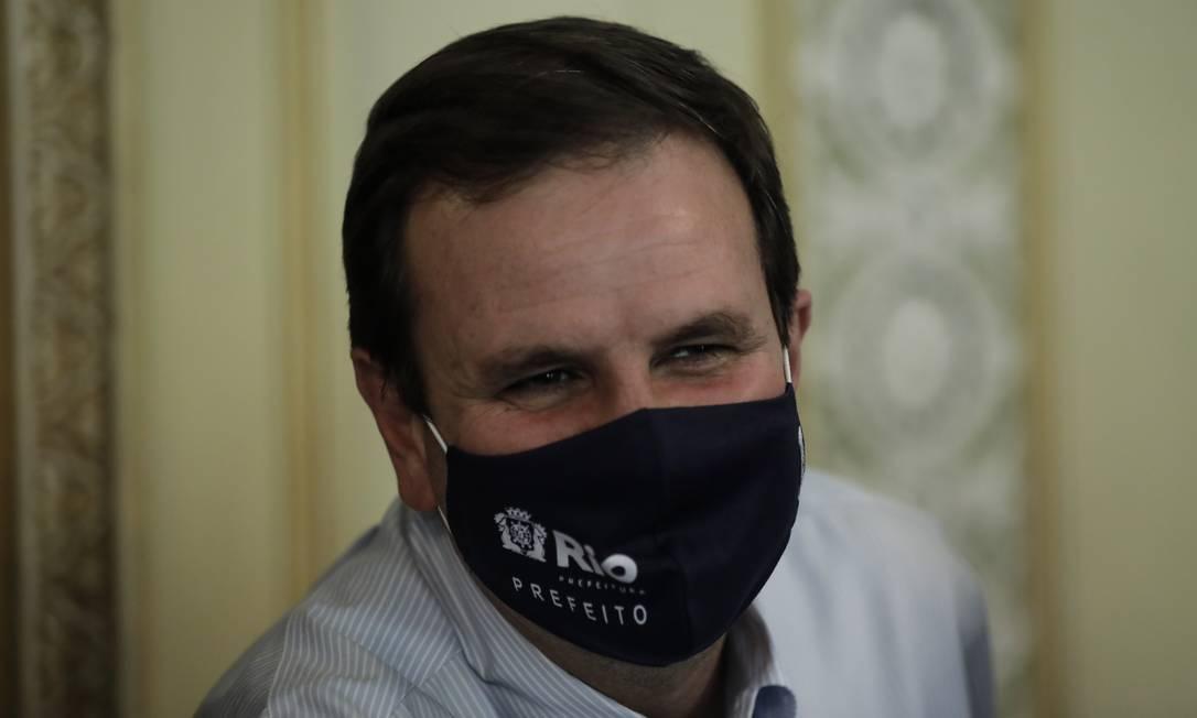 O prefeito do Rio, Eduardo Paes Foto: Gabriel de Paiva/ Agência O Globo