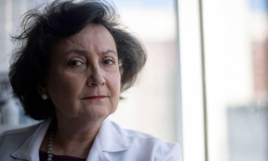 Pneumologista e pesquisadora da Fiocruz Margareth Maria Pretti Dalcolmo, de 66 anos, é a Personalidade 2020 do Prêmio Faz Diferença Foto: Mauro Pimentel / AFP
