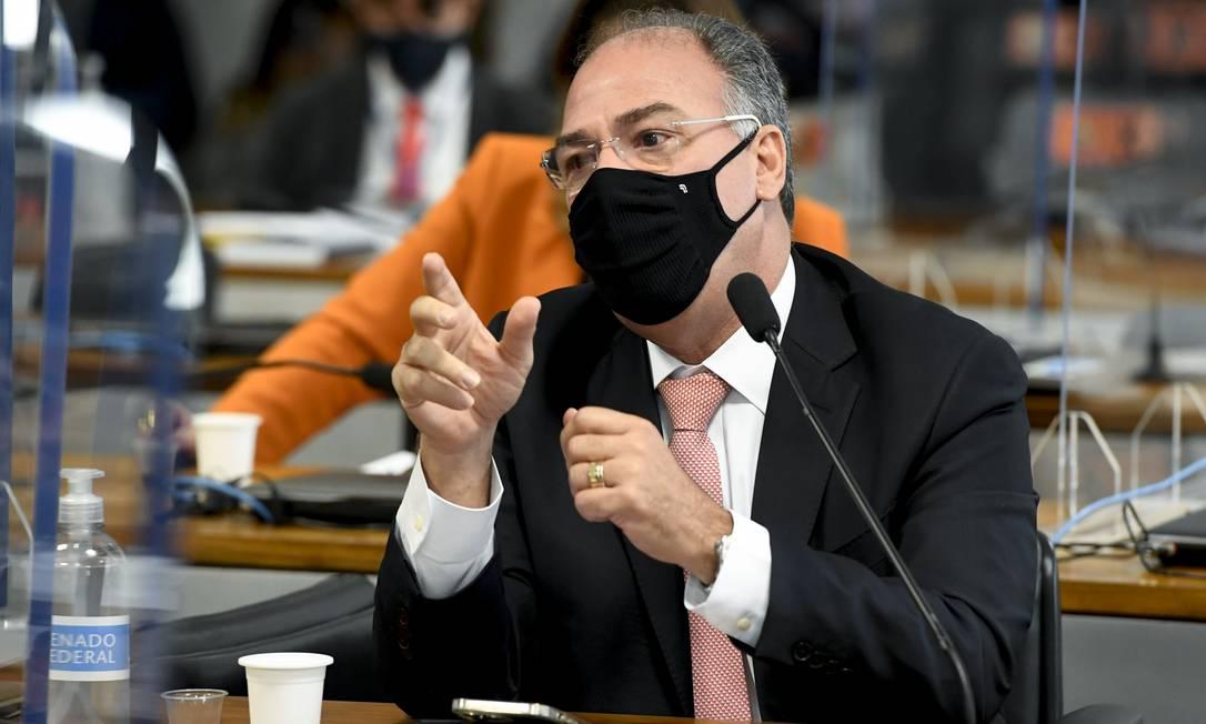 O líder do governo no Senado, Fernando Bezerra Coelho (MDB-PE) Foto: Jefferson Rudy / Agência Senado