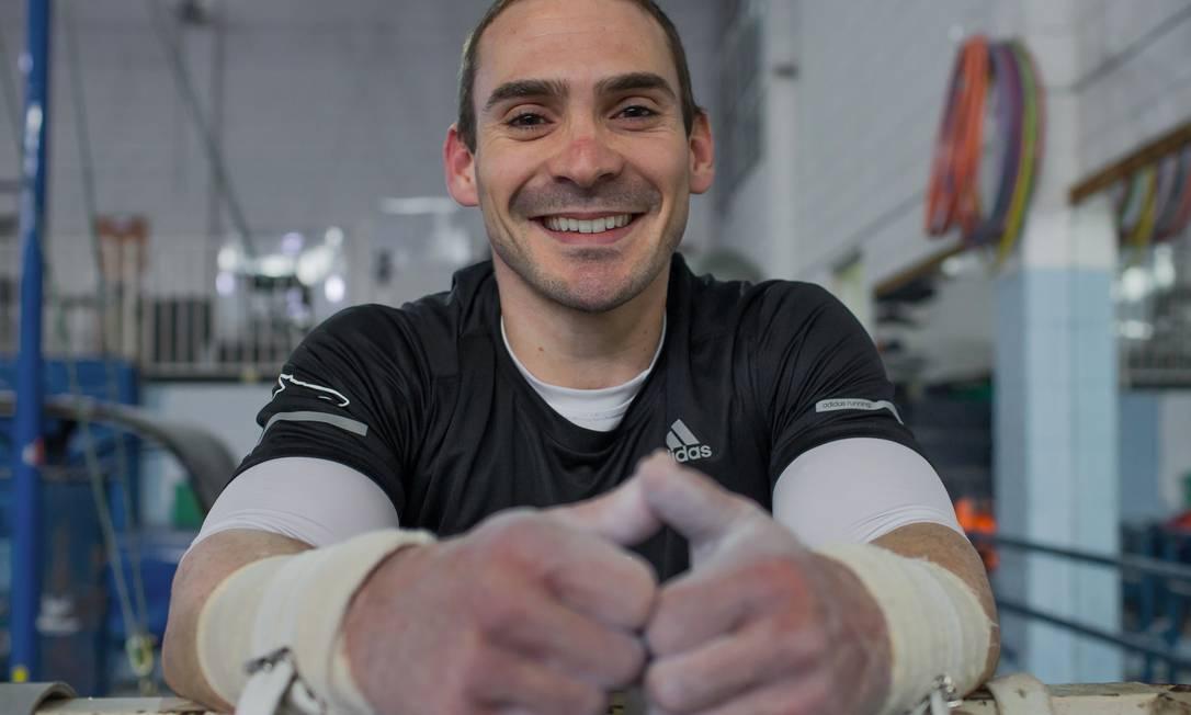 Arthur Zanetti já foi campeão olímpico e mundial na modalidade de argolas Foto: Edilson Dantas / Agência O Globo