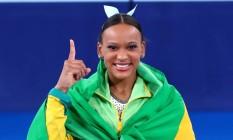 Rebeca Andrade conquista o ouro no salto Foto: Ricardo Bufolin/COB