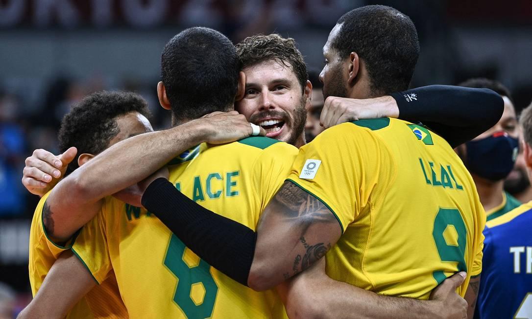 Seleção brasileira enfrentará o Japão nas quartas em Tóquio Foto: ANNE-CHRISTINE POUJOULAT / AFP