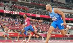 Prova de atletismo: cobertura em tempo real Foto: Reprodução / O GLOBO