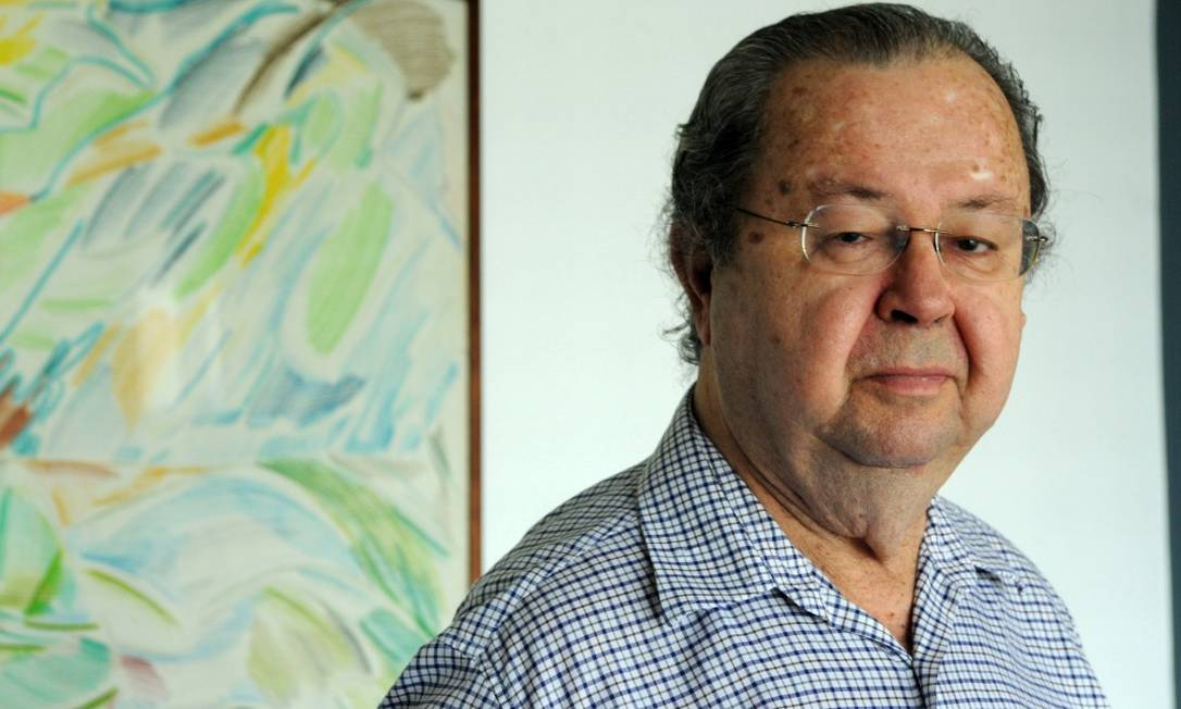 O cientista político e ex-ministro da Cultura Francisco Weffort Foto: Leo Pinheiro / Valor