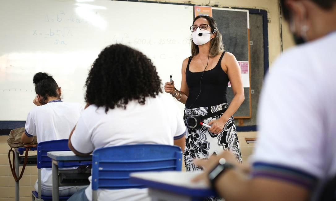 Rede estadual de Pernambuco é referência em educação integral no país Foto: Divulgação/Governo de Pernambuco