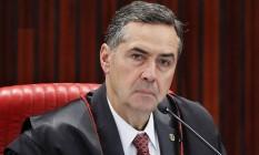 Ministro Luís Roberto Barroso, presidente do TSE Foto: Divulgação/TSE