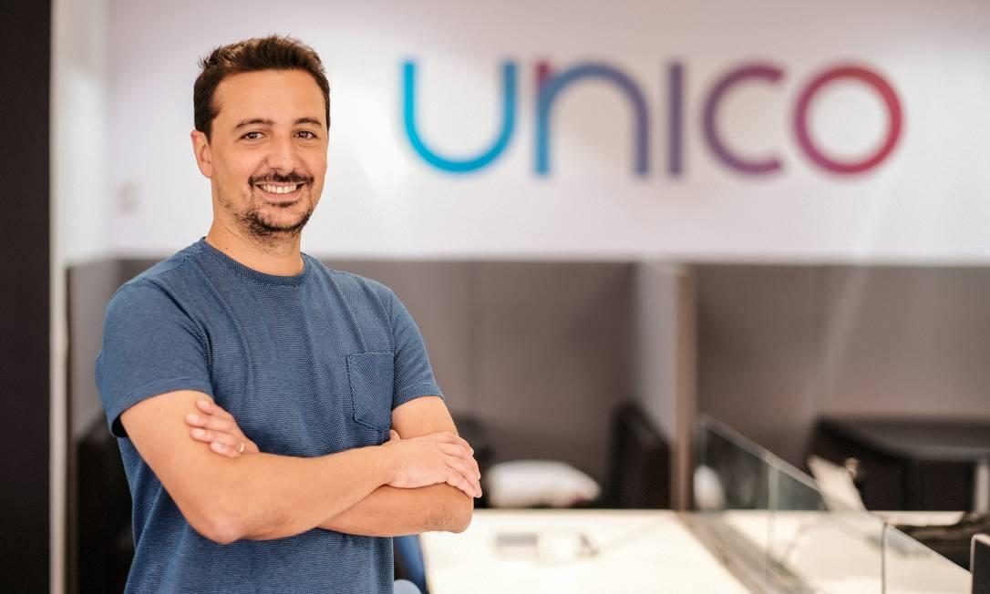 """Diego Martins, fundador da Unico, novo """"unicórnio"""" brasileiro Foto: LAURO UEZONO / Divulgação"""