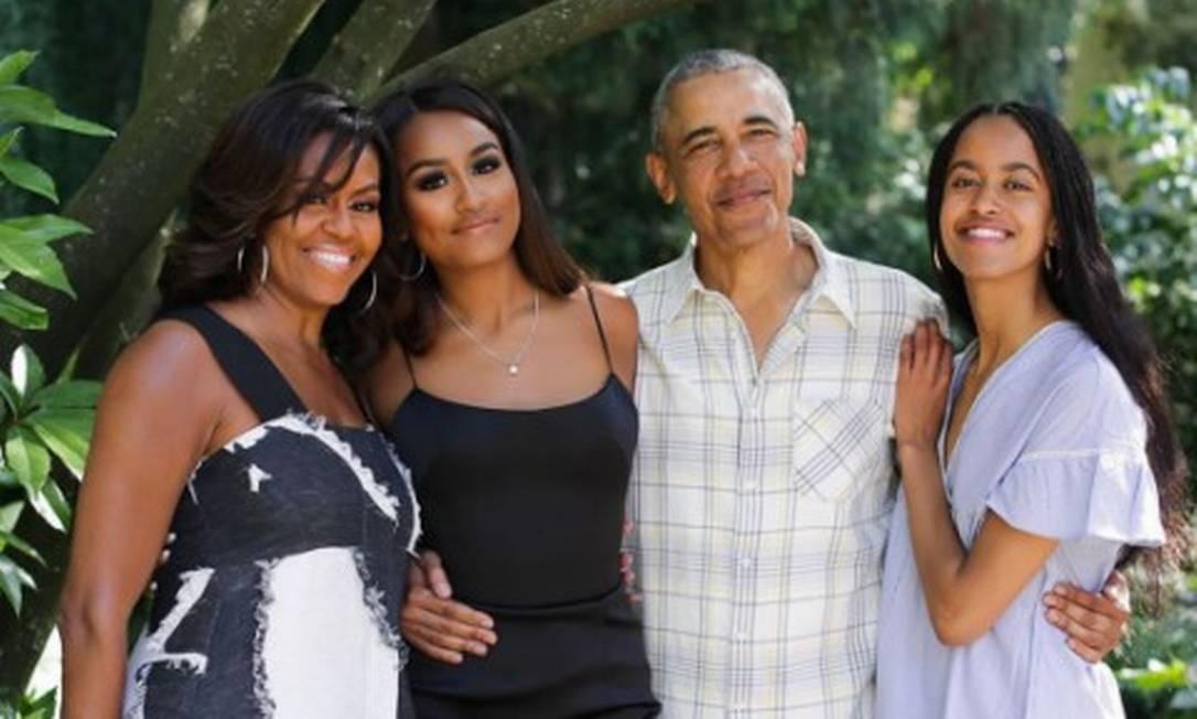 Barack Obama vai celebrar o aniversário de 60 anos com familiares e amigos próximos em Martha's Vineyard, em Massachusetts, nos EUA Foto: Reprodução/Instagram