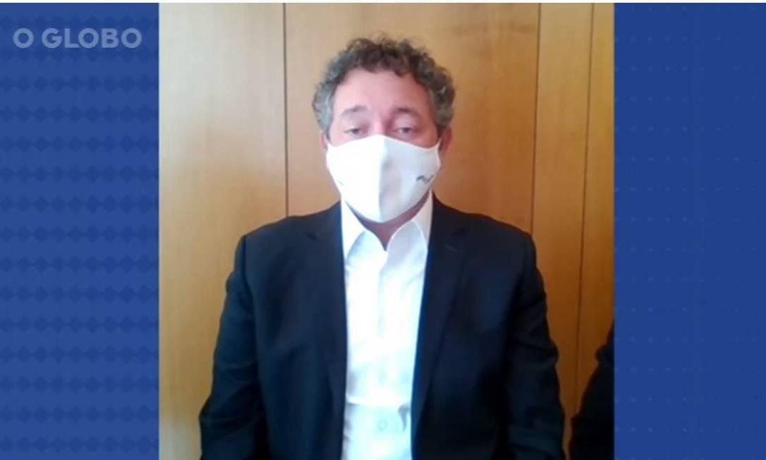 Francisco Maximiano depõe à PF sobre caso Covaxin Foto: Reprodução/PF