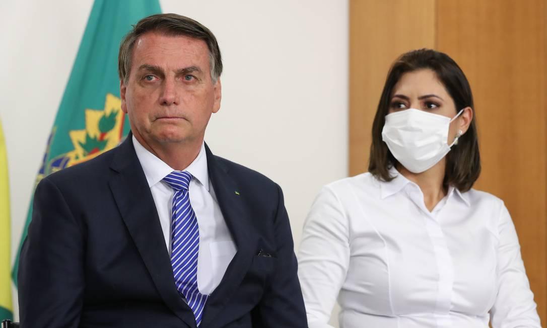 O presidente Jair Bolsonaro participa de cerimônia no Palácio do Planalto Foto: Isac Nóbrega/Presidência/04-08-2021