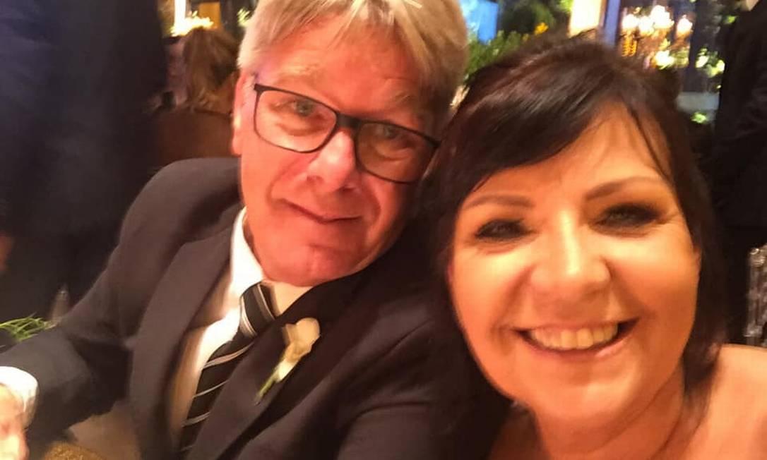 Sonia Oliveira e o marido, José Ricardo de Abreu, foram encontrados mortos num motorhome Foto: Facebook / Reprodução