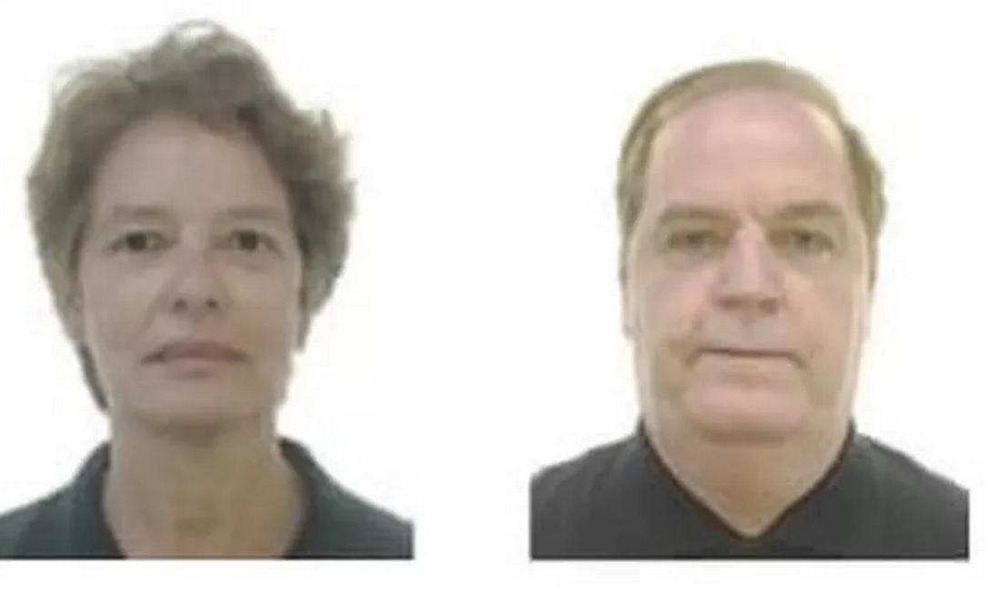 Raquel Heringer Cesar e Paulo Oliveira Cesar foram encontrados mortos em apartamento em Vila Velha (ES) Foto: Reprodução