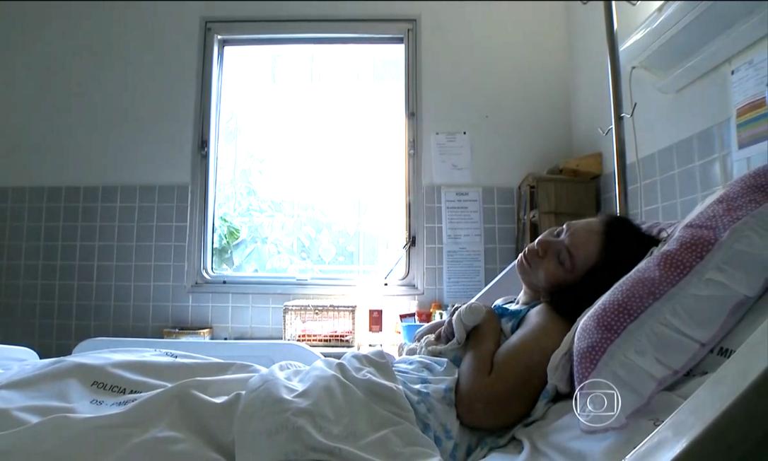 Paciente conhecida como Clarinha está em coma há 21 anos em hospital no ES Foto: Reprodução