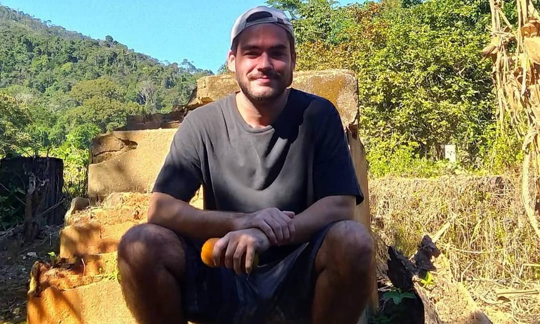 Guilherme Heringer matou os pais a facada Foto: Reprodução
