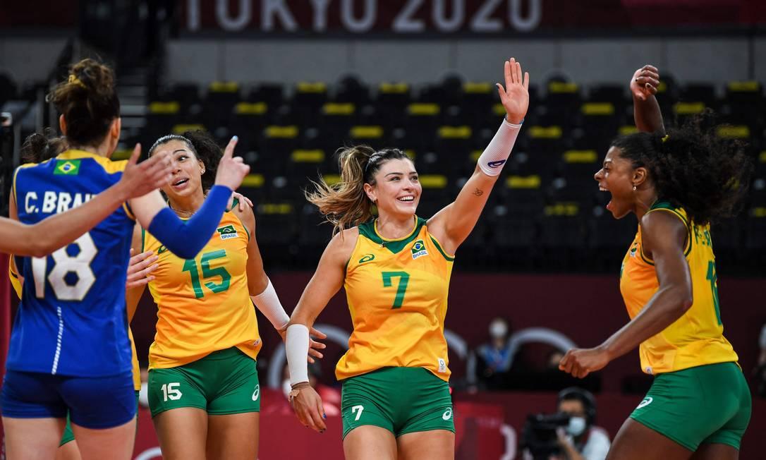 Brasil e Coreia do Sul voltam a se enfrentar nesta sexta-feira, pela semifinal Foto: YURI CORTEZ / AFP
