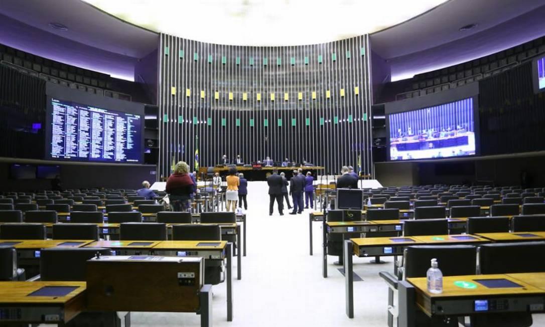 Adoção do voto impresso teve 229 votos favoráveis, abaixo dos 308 necessários Foto: Najara Araujo/Câmara dos Deputados