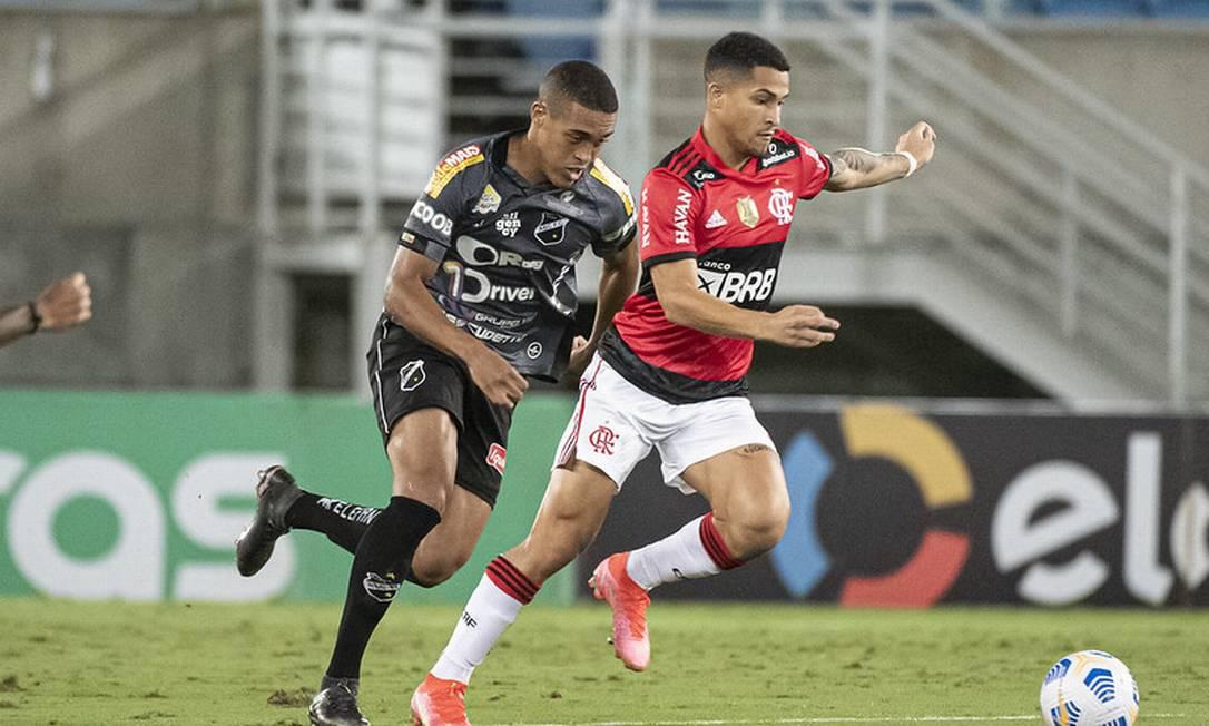 João Gomes fez o gol da vitória Foto: Divulgação