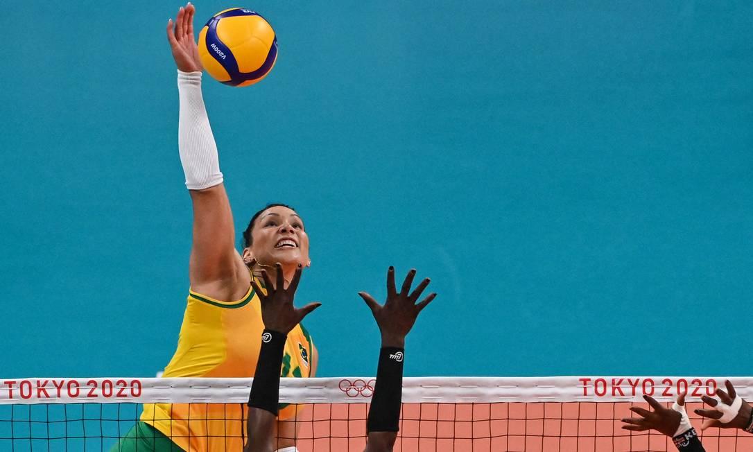 Tandara: suspensão às vésperas da semifinal Foto: Luis Robayo/AFP