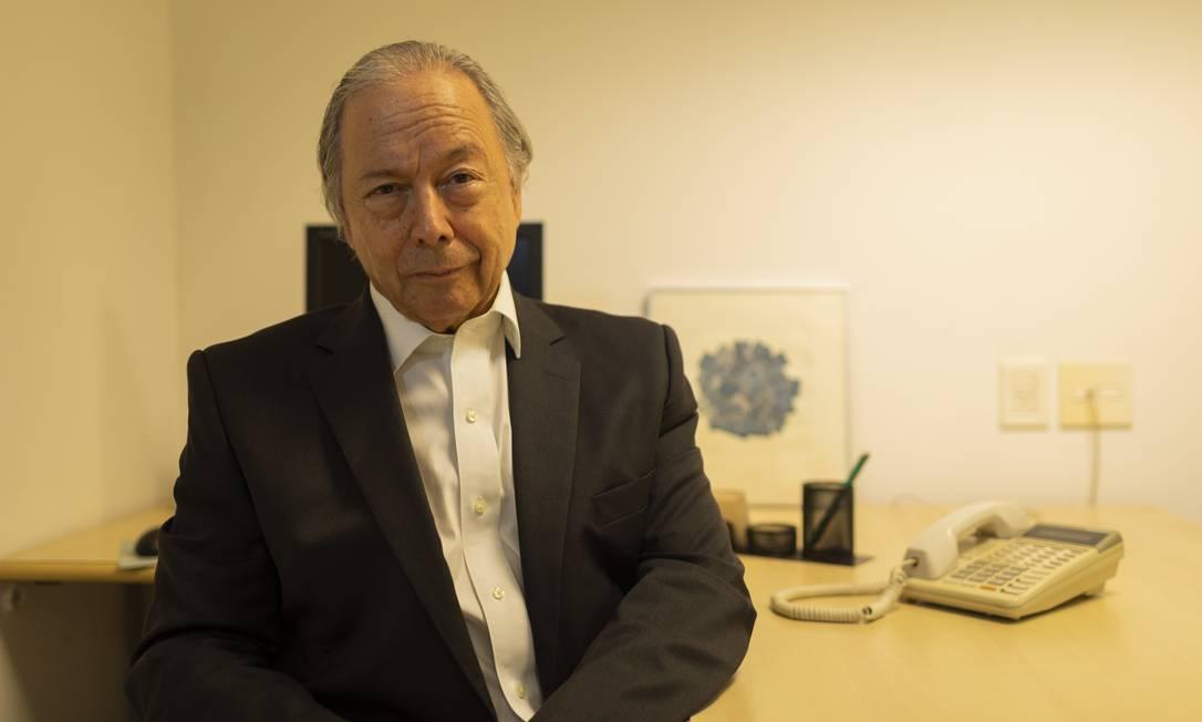 O ex-ministro da Fazenda e ex-presidente do Banco Central Pedro Malan, que foi um dos criadores do Plano Real Foto: Gabriel Monteiro / Agência O Globo