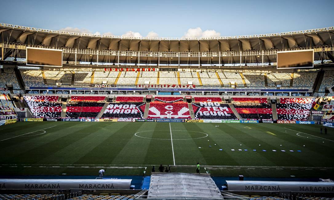 O Flamengo quer a volta da torcida aos estádios - Foto: Alexandre Vidal/Flamengo/Divulgação