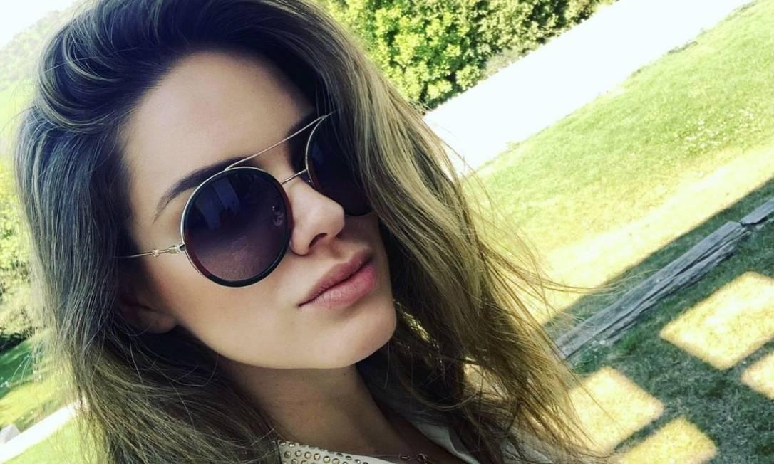 A modelo Nayara Vit, que morreu após cair de um apartamento no Chile Foto: Instagram / Reprodução