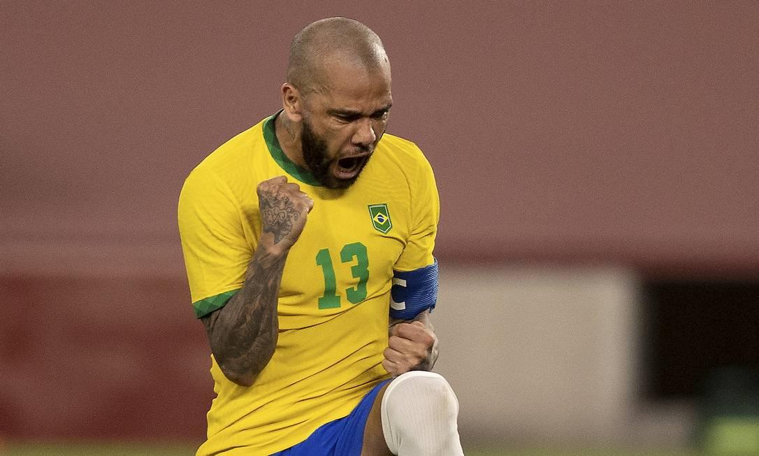 Daniel Alves Foto: Foto Lucas Figueiredo/CBF / Agência O Globo