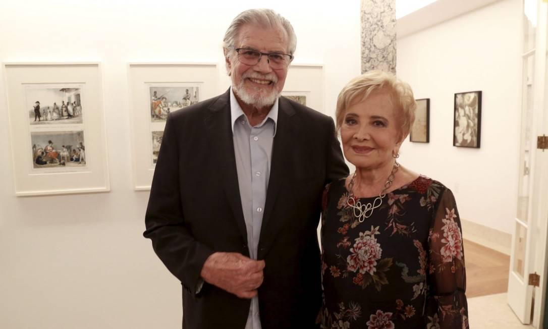 Tarcísio Meira e Glória Menezes Foto: Marcos Ramos / Agência O Globo