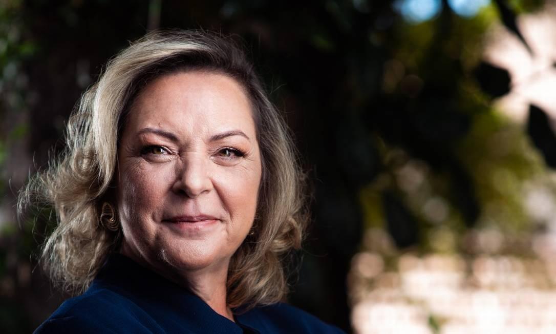 A CEO da Ambipar, Cristina Andriotti: em recente entrevista ao GLOBO, a executiva disse que queria ampliar atuação internacional Foto: CBELLI / Divulgação