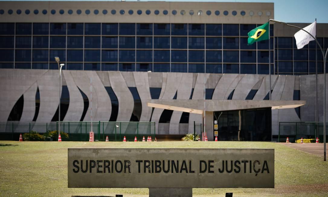 Superior Tribunal de Justiça Foto: Pablo Jacob / Agência O Globo