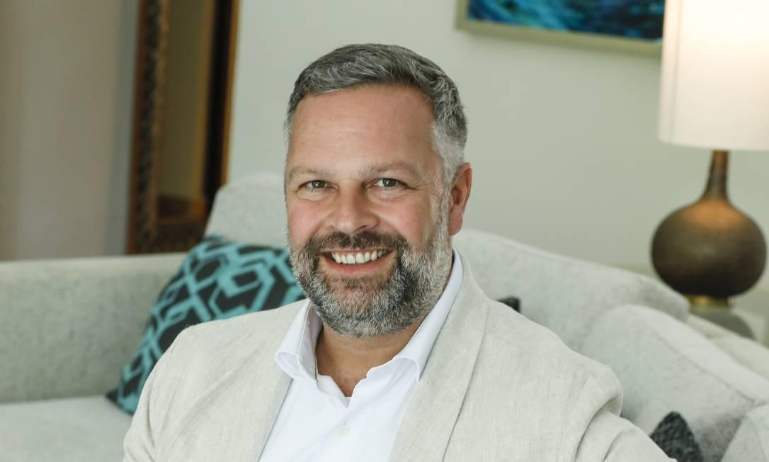 Simon Mayle, diretor da feira de turismo WTM Latin America, que volta a ser realizada em 2021, de maneira 100% virtual Foto: Divulgação