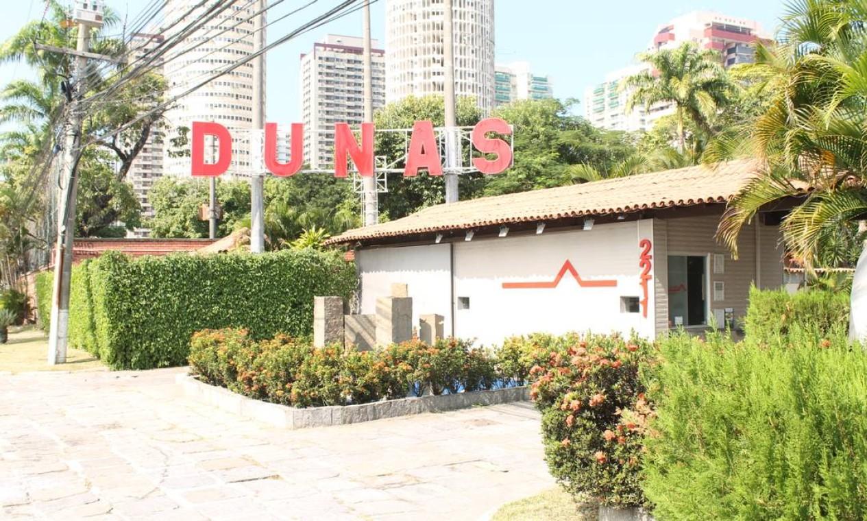 Ainda em atividade, o motel Dunas teve a presença do general Figueiredo, então chefe do gabinete Militar do presidente Médici, em sua festa de inauguração Foto: Ciça Guedes / Arquivo