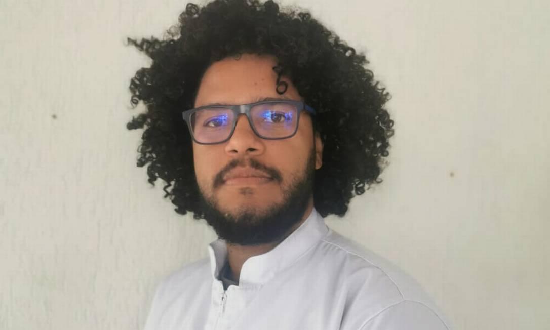 O biólogo Bruno denuncia ter sido vítima de racismo durante voo da GOL Foto: Álbum de família