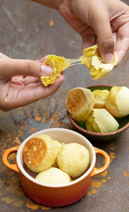 Vegano. A LBculinária (99241-3047) oferece o Pão de Beijo, famoso pão de queijo vegano, feito com batata-doce. Sai por R$ 15 (300g) Foto: , / Divulgação/LuMattos