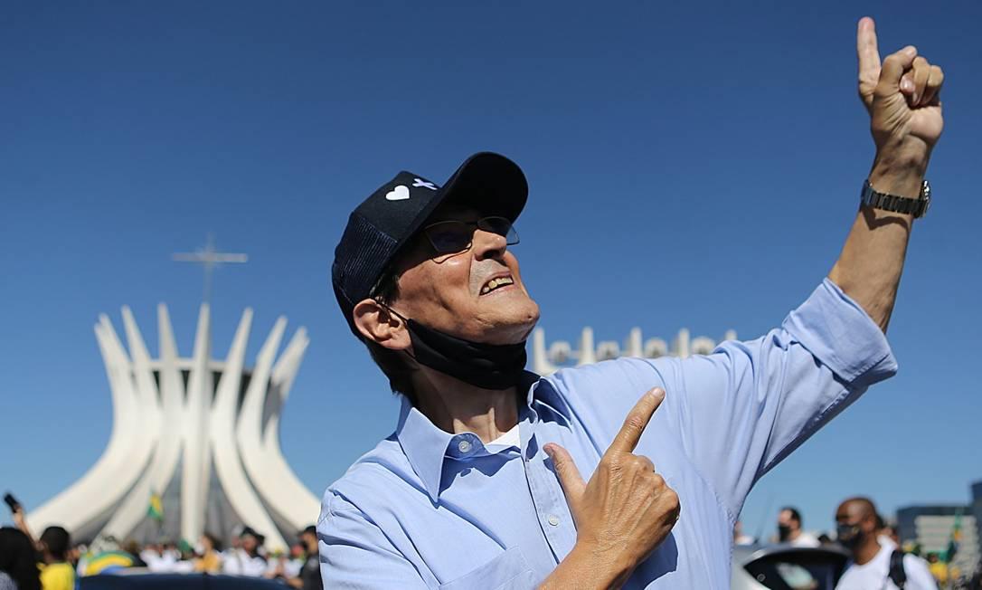 O ex-deputado Roberto Jefferson Foto: Jorge William / Agência O Globo