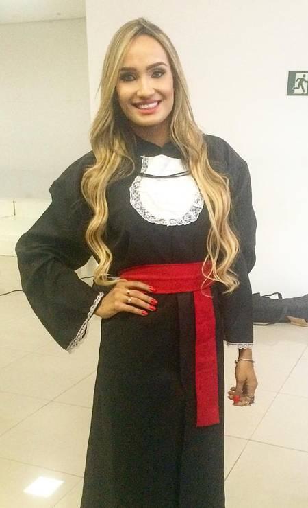 Além de blogueira, Laís Crisóstomo Aguiar é formada em Direito Foto: Reprodução