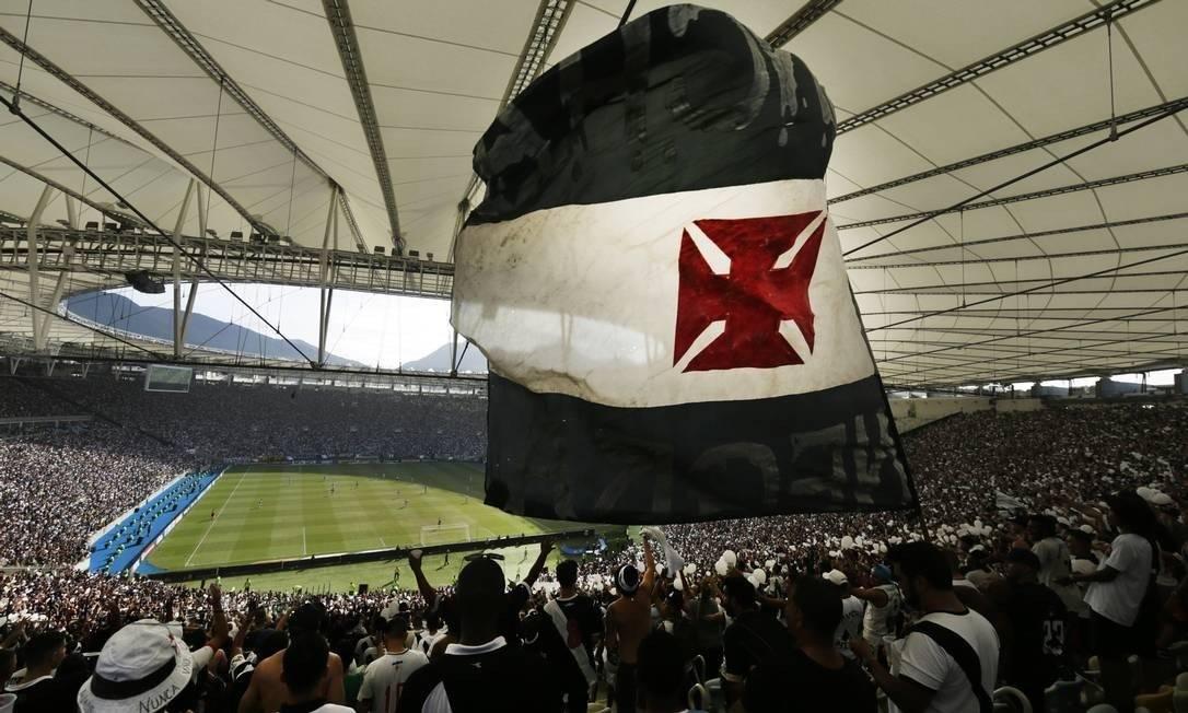 Plano sócio-torcedor do Vasco da Gama foi um sucesso Foto: Antonio Scorza / Antonio Scorza / Agência O Globo